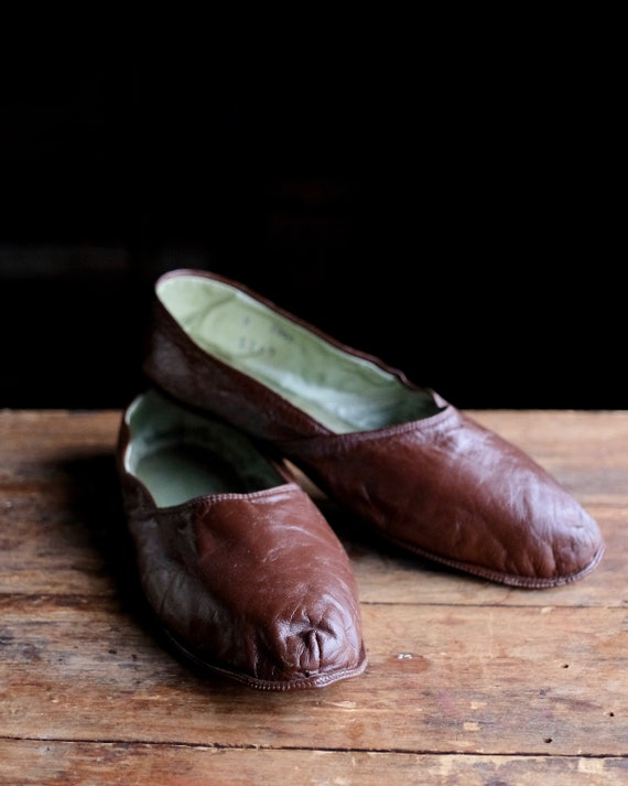Vintage Men's House Slippers - image 1