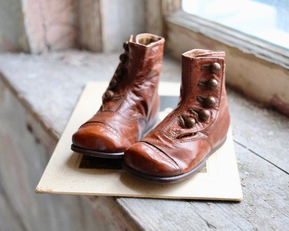 Antique Child's Button Boots