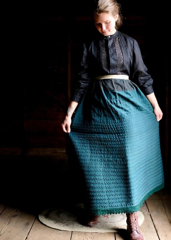 Antique Heavy Winter Petticoat