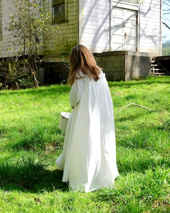 Antique 1880s Victorian Dressing Gown Nightdress … - image 5