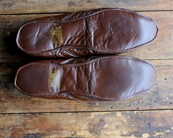 Vintage Men's House Slippers - image 7