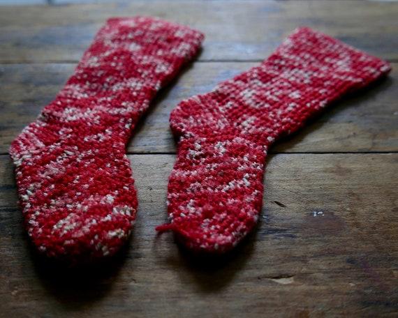 Antique Primitive Child's Socks