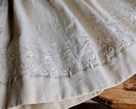 Victorian Girls Petticoat Underdress Size 4 - image 6