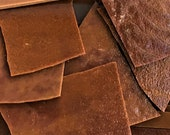 chocolate brown stained glass hand cut pieces mosaic art tiles squares scraps odds