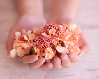 Flower Comb - Boho Comb - Bohemian Bridal - Wedding Comb - Floral Bridal Comb - Wedding Hairpin - Boho wedding - Boho Bridal - Bohemian Comb