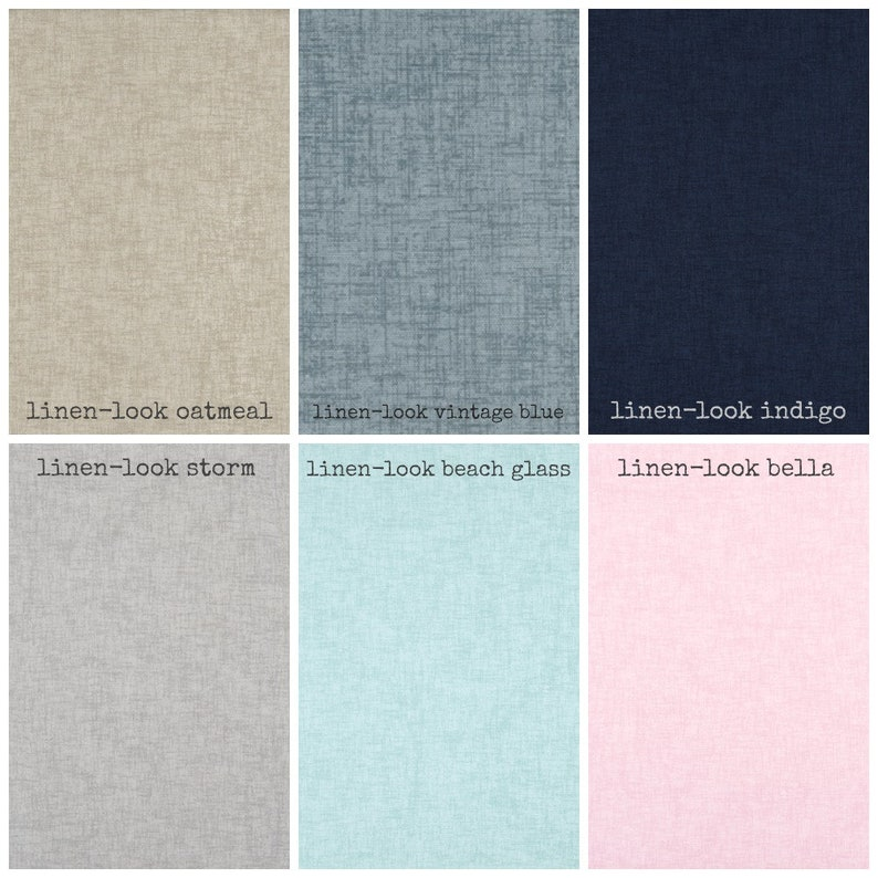 Linen-look Dog Crate Cover Choose from 6 Colors image 0