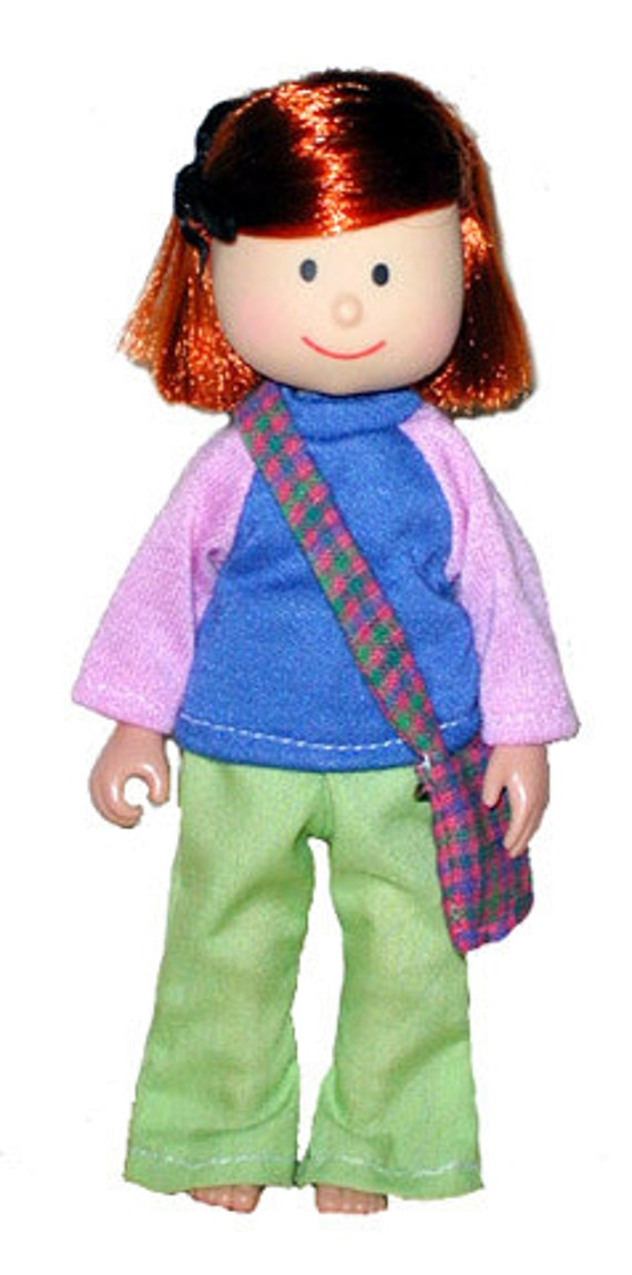Madeline For 8 inch doll sweater and skirt doll outfit retired