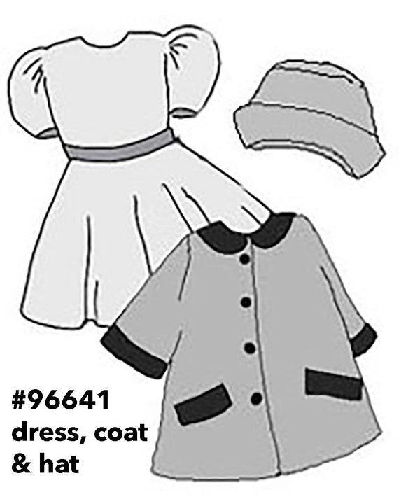 Moxie doll clothes patterns Bratz coat pattern Bratz 10   Etsy 132d53a22be