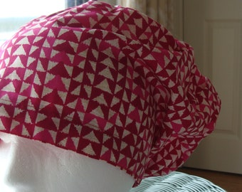 49ac0926a11 Rosie Rita Hattie Style.......................Surgical Hat...Chemo Hat....Bakers  Hat
