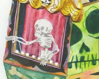 Skeleton Inside - Original Artwork