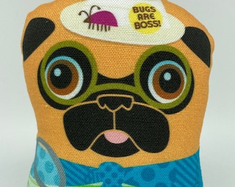 Insect Enthusiast – Small Pug Plush