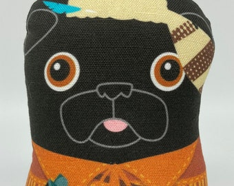 Frontierspug – Small Pug Plush