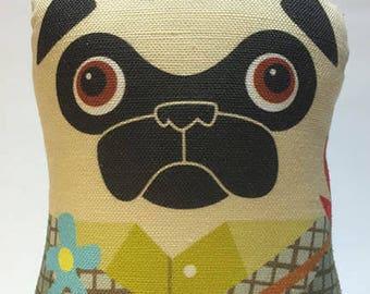 Hobo Pug - Small Pug-Guise Plush