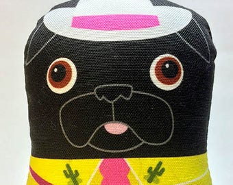 Singing Cowgirl - Small Pug-Guise Plush