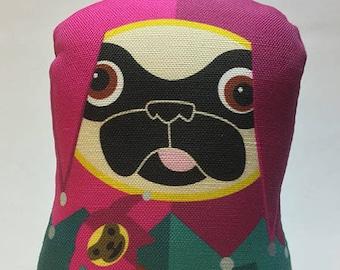 Jester Pug - Small Pug-Guise Plush