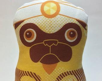 Genie Pug - Small Pug-Guise Plush