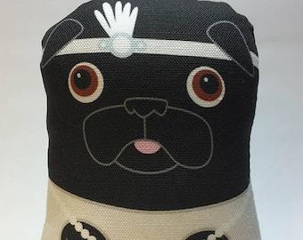Flapper Pug - Small Pug-Guise Plush
