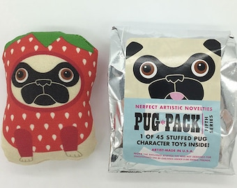 Nerfect Pug-Pack / Series 5 (Blind-Bagged Stuffed Toy)