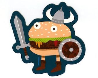 Fantasy Warburger sticker