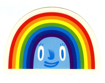 Janice the Rainbow sticker
