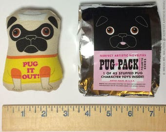 Nerfect Pug-Pack / Series 4 (Blind-Bagged Stuffed Toy)
