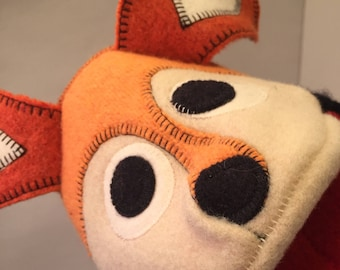 Fox Puppet named Darby