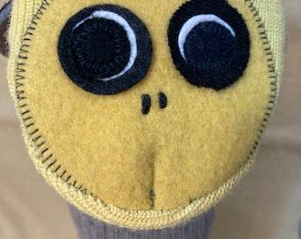 Bradbury the Bee puppet