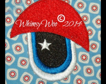 WhimsyWoo Original Eye with Star Embroidery File