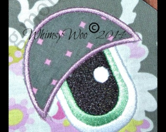 WhimsyWoo Original Eye Embroidery file