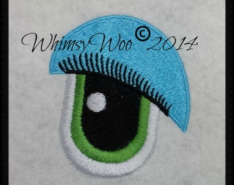 WhimsyWoo Unisex Lashers Eye Embroidery file