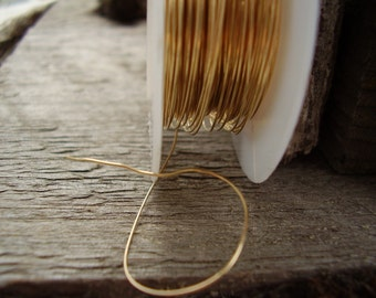28 Gauge 14k Rose Gold Filled Wire Ds 1 Ounce Etsy