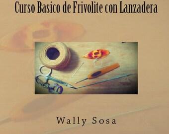 Curso Basico de Frivolite con Lanzadera - Version Impresa