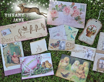 PostCard in Spring Papier Set by TiffanyJane