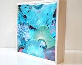 Thrive - Resin-Coated Print on Wood Panel