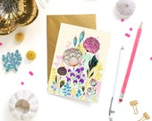 Card - Note Card - Comely