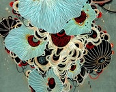 Giclee Fine Art Print - Deluge - 11x11