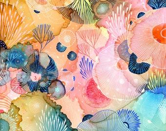 Art print - Dive