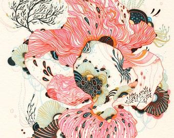 Giclee Fine Art Print - Nourish - Print