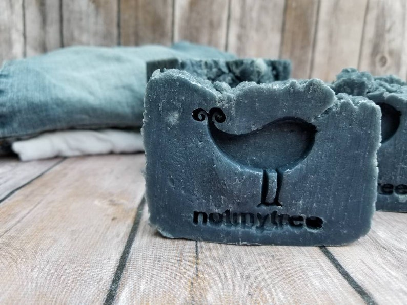 Natural Soap Blue Jeans & a T-shirt Vegan Soap Handmade image 0