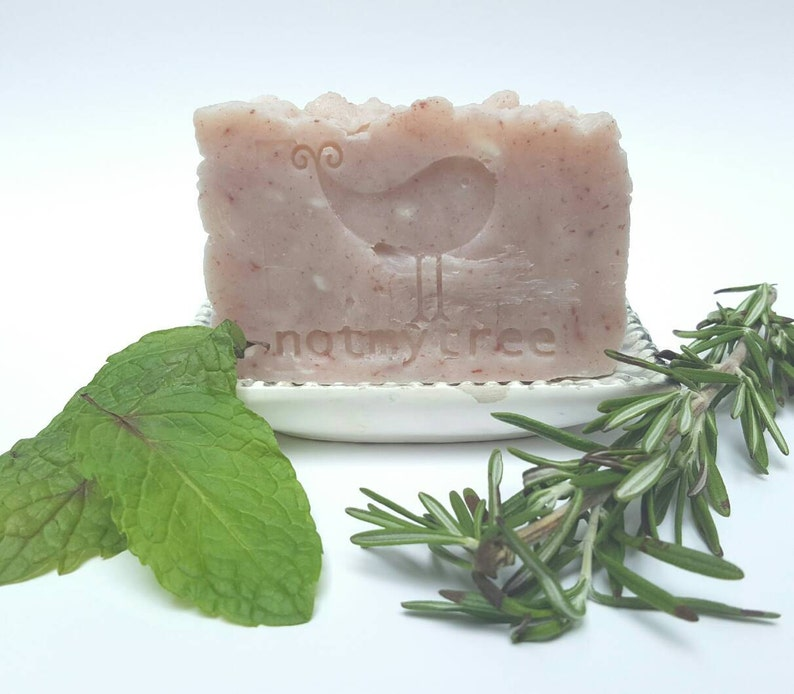 Rosemary Mint Soap Handmade Soap Handcrafted Soap Vegan image 0