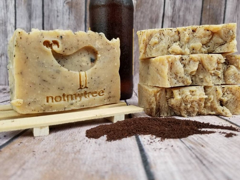 Coffee IPA Soap Natural Soap Handmade Soap Palm Free Soap image 0