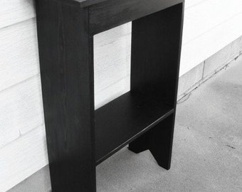 Console Table, Hallway Console Table, Storage Console Table,  Mudroom Console Table, Living Room Console Table, Black, Custom