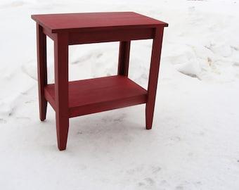 Entryway Table, Foyer Table, End Table, Night Stand, Modern Farmhouse  22 x 16 x 25 Custom