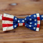 Boys American Flag Bow Tie, fourth of July kid bow tie, boys bow ties, American apparel, patriotic father son bow ties, eye catching bow tie