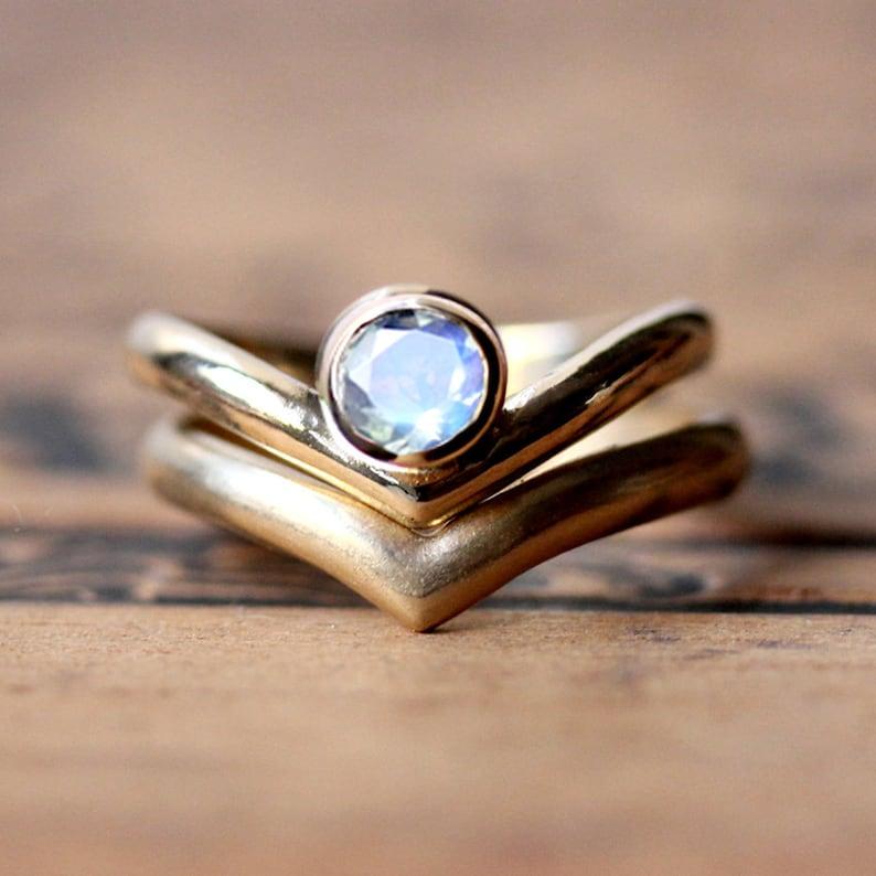celtic moonstone engagement rings - 794×794