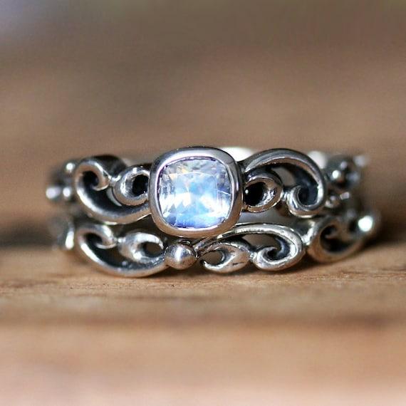 celtic moonstone engagement rings - 850×850