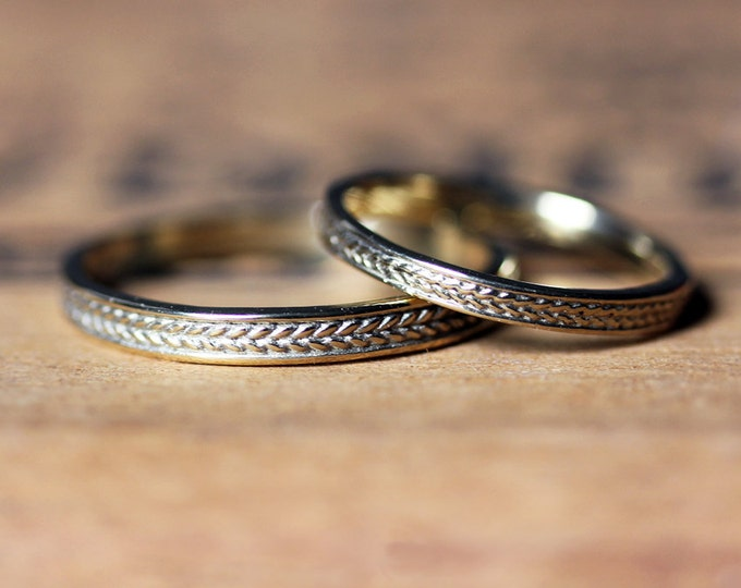 Wheat wedding band meaning