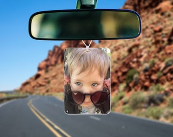 Custom photo Air Freshener • Car Scent • Personalized Car Accessories • Car Air Freshener air freshener. scented or unscented
