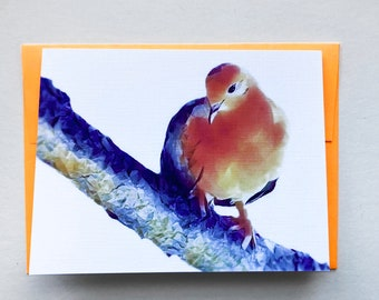 AUTUMNAL WINDS 10 note cards, greeting card, stationary, paper goods, party supplies, nature, dove, bird, inspiration