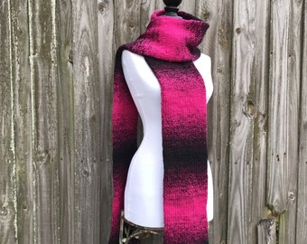 Oversized Scarf, Womens Scarf, Mens Scarf, Winter Scarf, Double Knit Scarf Handmade, Fall Fashion, Winter Accessories, Knit Accessories